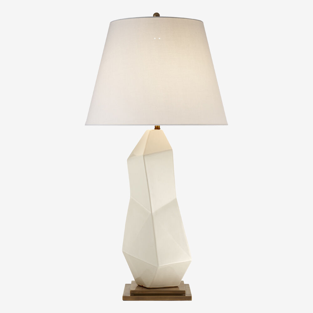 BAYLISS TABLE LAMP - WHITE