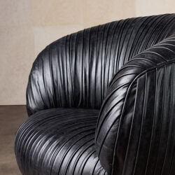 SOUFFLE CHAIR - BLACK
