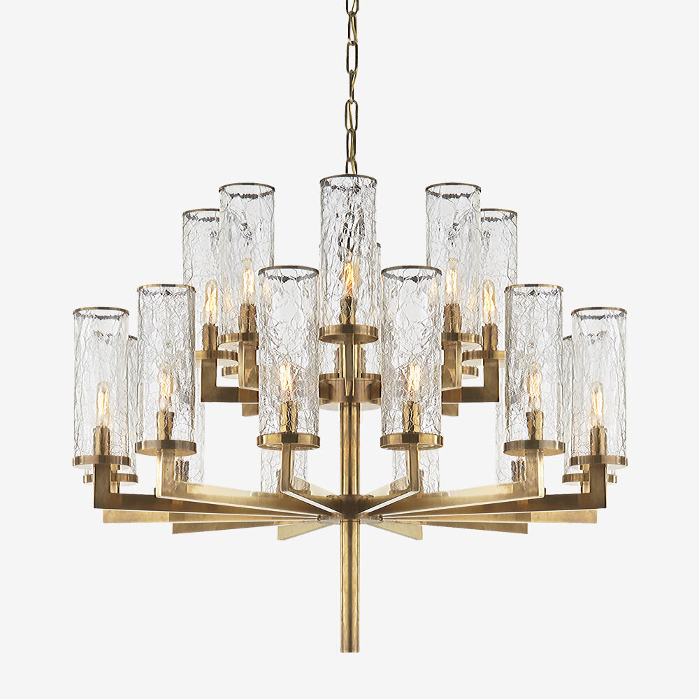 Chandeliers kelly wearstler liaison two tier chandelier arubaitofo Image collections