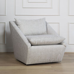HARPER SWIVEL CHAIR - AVANT OFF WHITE