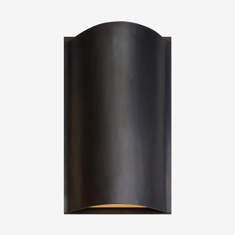 AVANT SMALL CURVE SCONCE - BRONZE