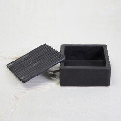 LAUREL RIBBED BOX SQUARE