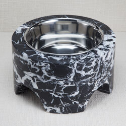 ZUMA LARGE DOG BOWL - NEGRO