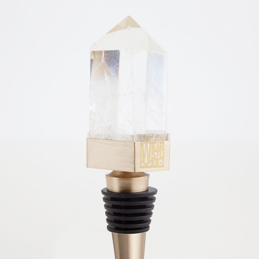 CRYSTALIZED WINE STOPPER