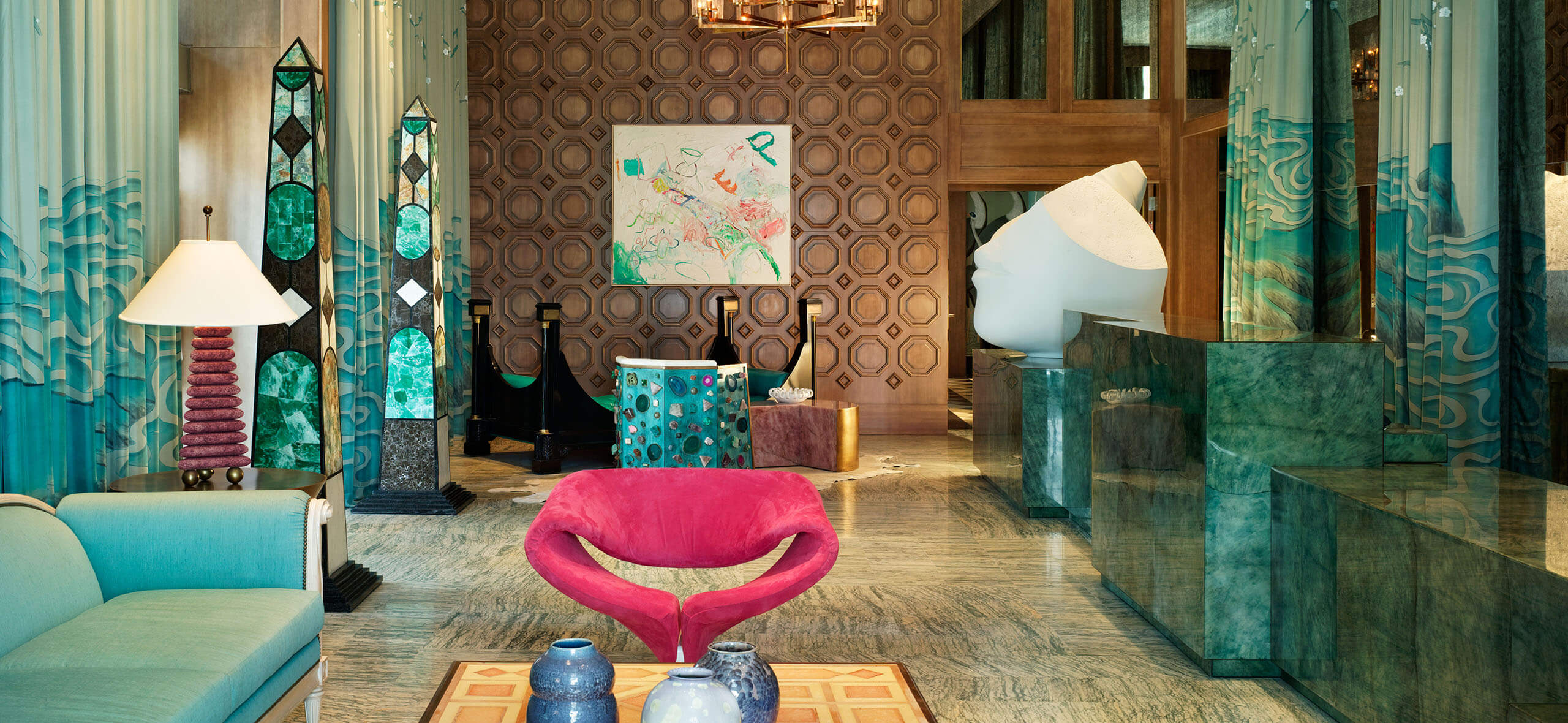 Kelly Wearstler Online Store Interiors Viceroy Miami