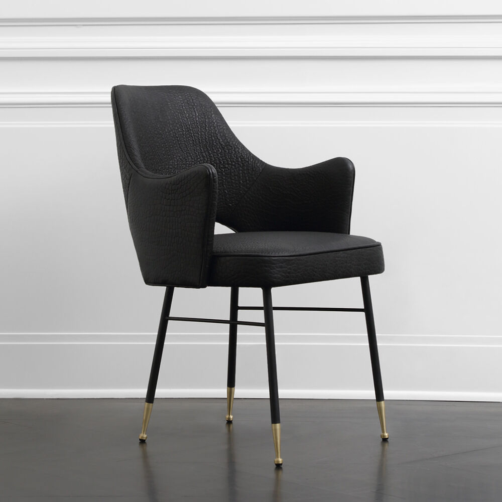 Kelly Wearstler S New Collection Brings Modern Comfort To: Rigby Chair By Kelly Wearstler