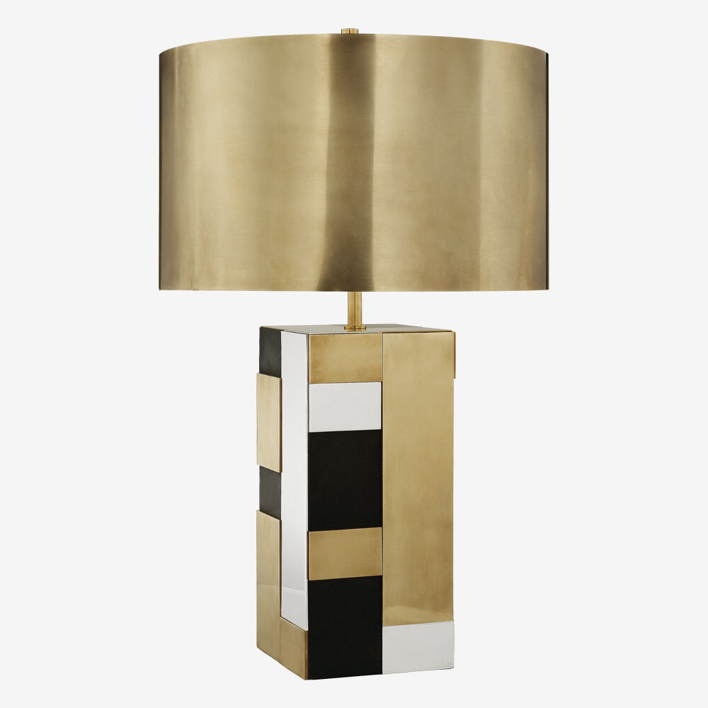 Designer table lamps kelly wearstler bloque table lamp mozeypictures Images
