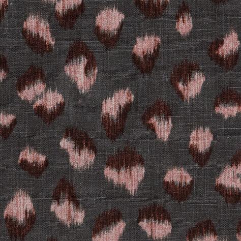 FELINE FABRIC GRAPHITE ROSE - SAMPLE