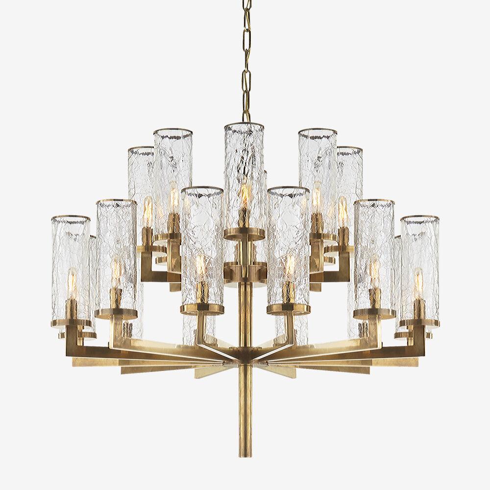 rousseau medium chandelier high end luxury design furniture and