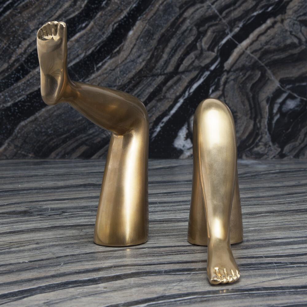 CLASSIC LEGS - BURNISHED BRASS