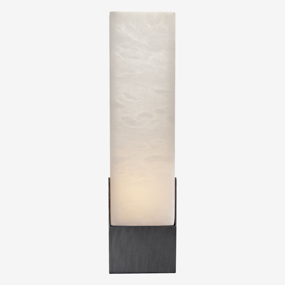 COVET TALL BOX SCONCE - BRONZE