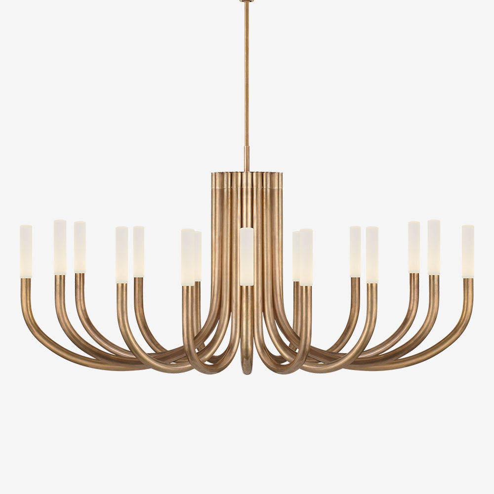 ROUSSEAU LARGE OVAL CHANDELIER