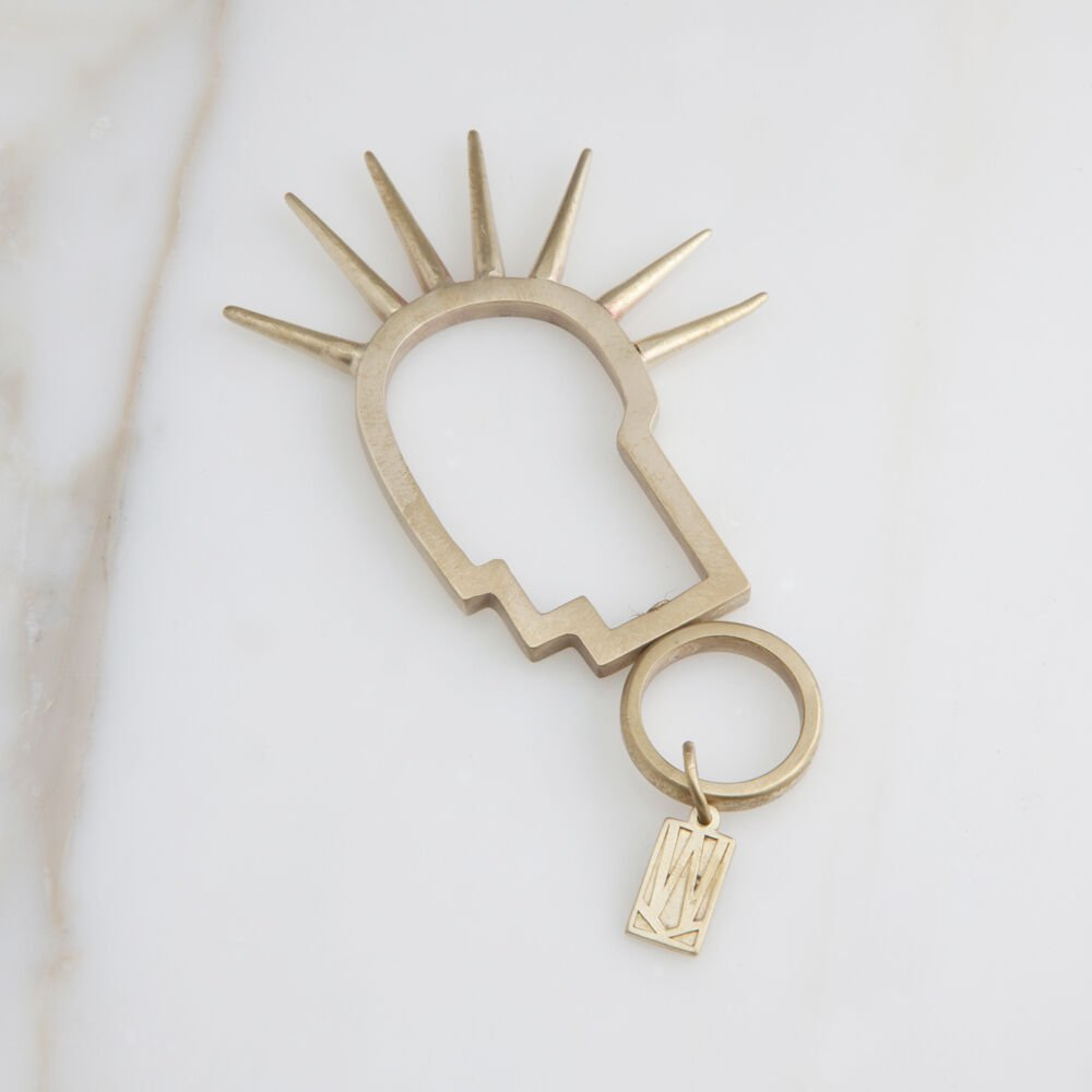 MINI HEAD TRIP KEYCHAIN
