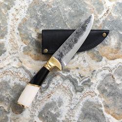 POGLIA KNIFE - SMALL BONE & HORN STRIPE