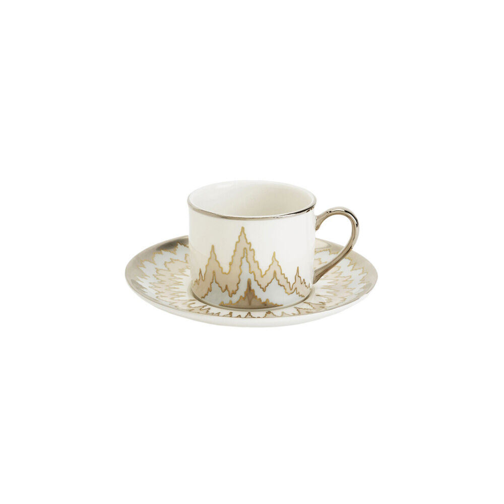 PICKFAIR TEA CUP AND SAUCER SET