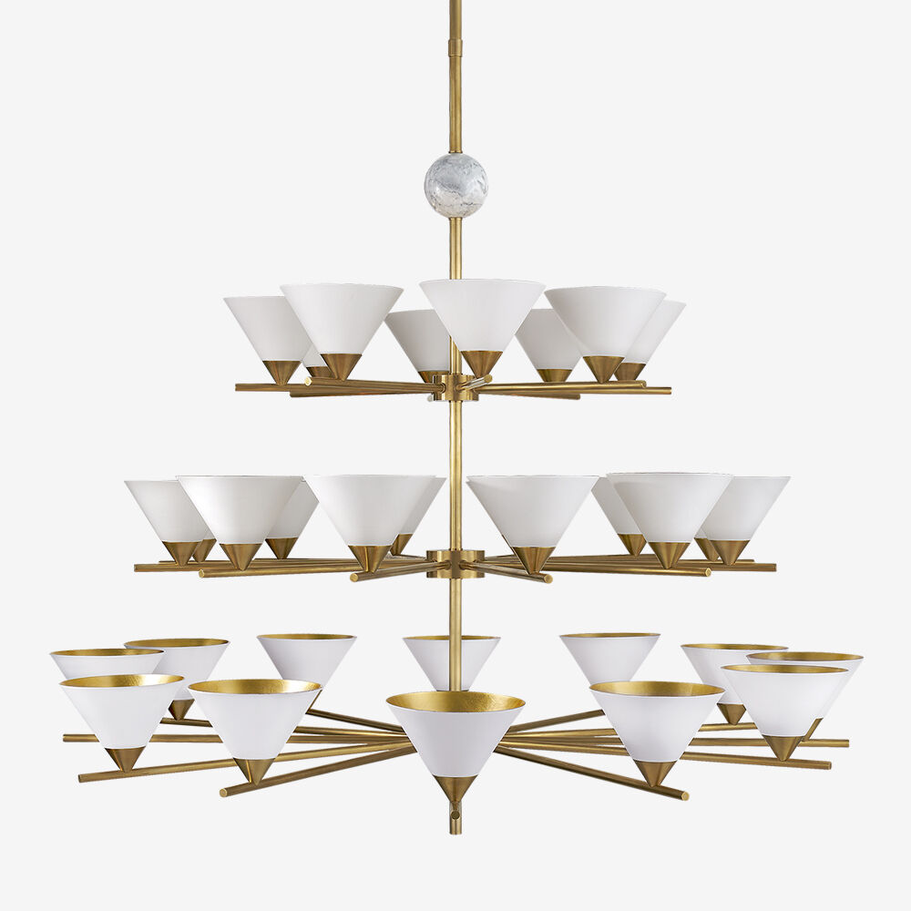 CLEO THREE-TIER CHANDELIER