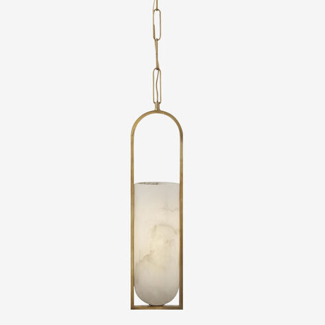 MELANGE SMALL ELONGATED PENDANT