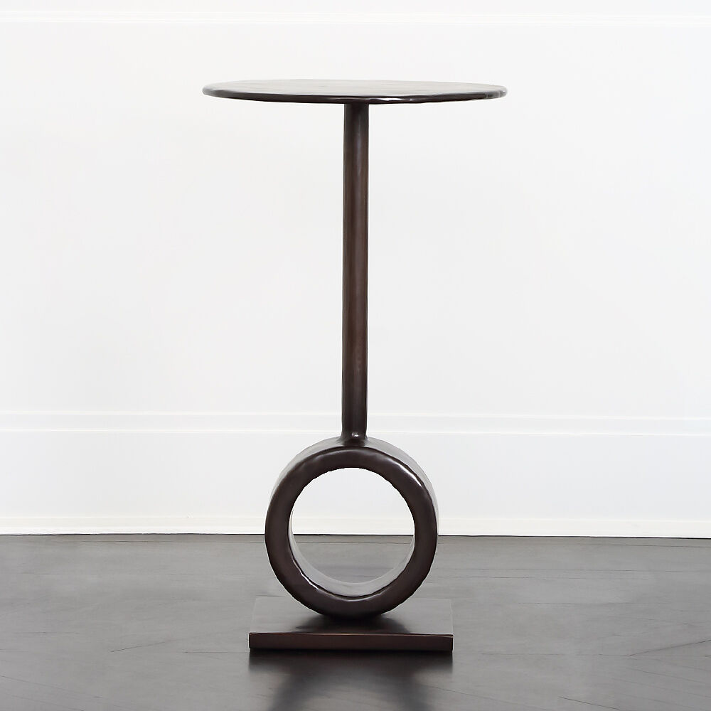 ARMATO BRONZE SIDE TABLE