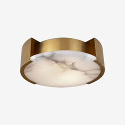 MELANGE SMALL FLUSH MOUNT LAMP