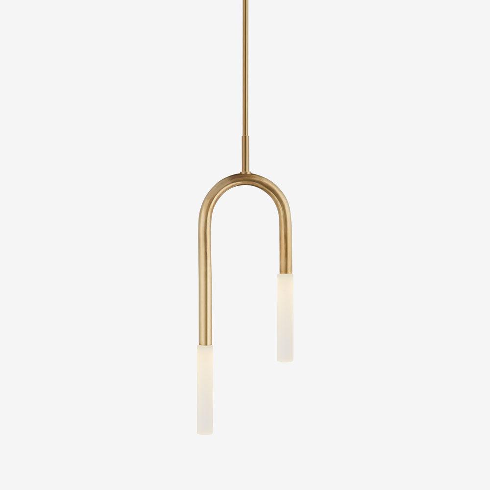 Rousseau small asymmetric pendant