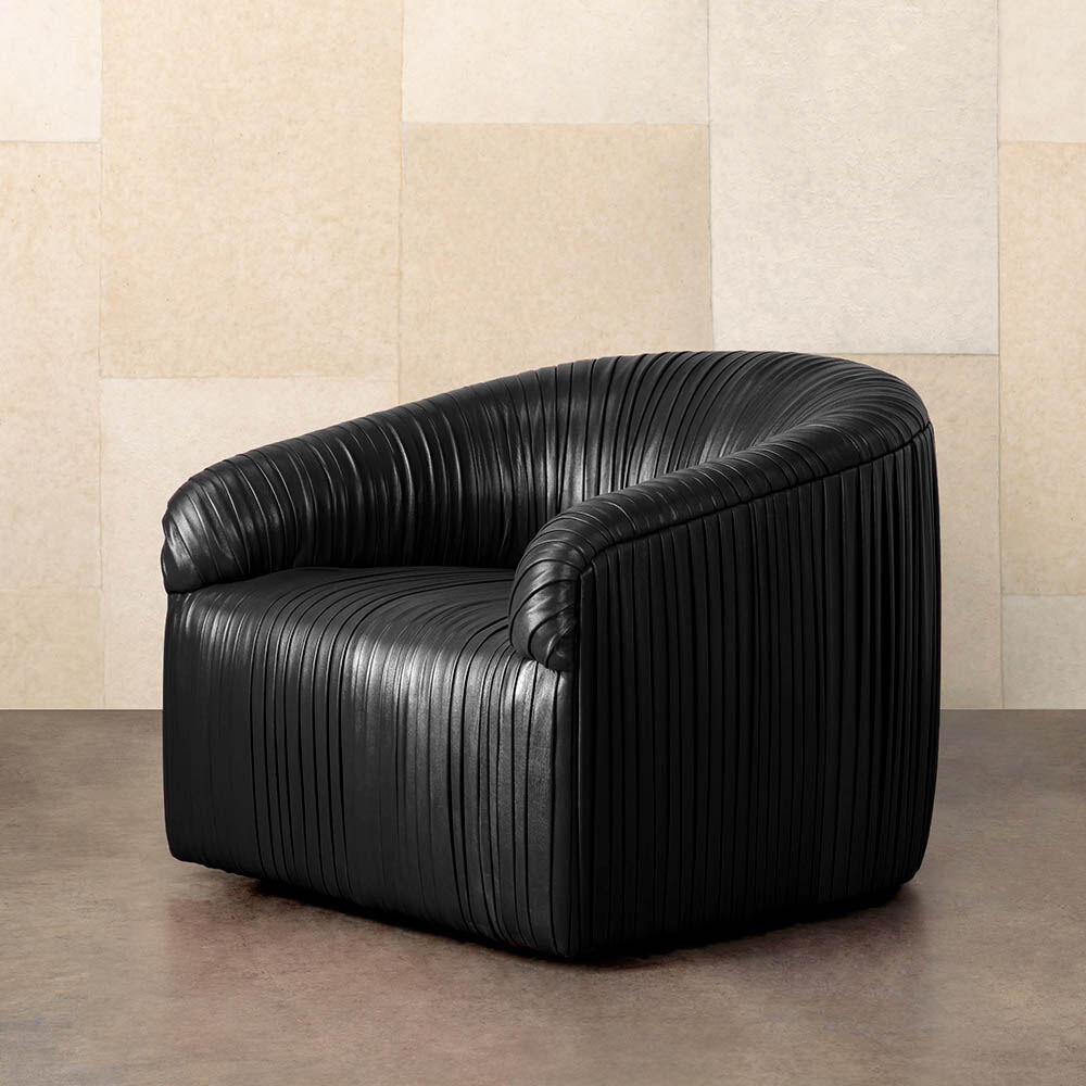 Souffle Club Chair Ruched