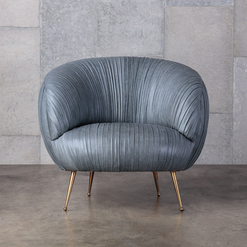 Souffle Chair Ruched