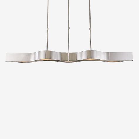 AVANT LINEAR PENDANT - POLISHED NICKLE