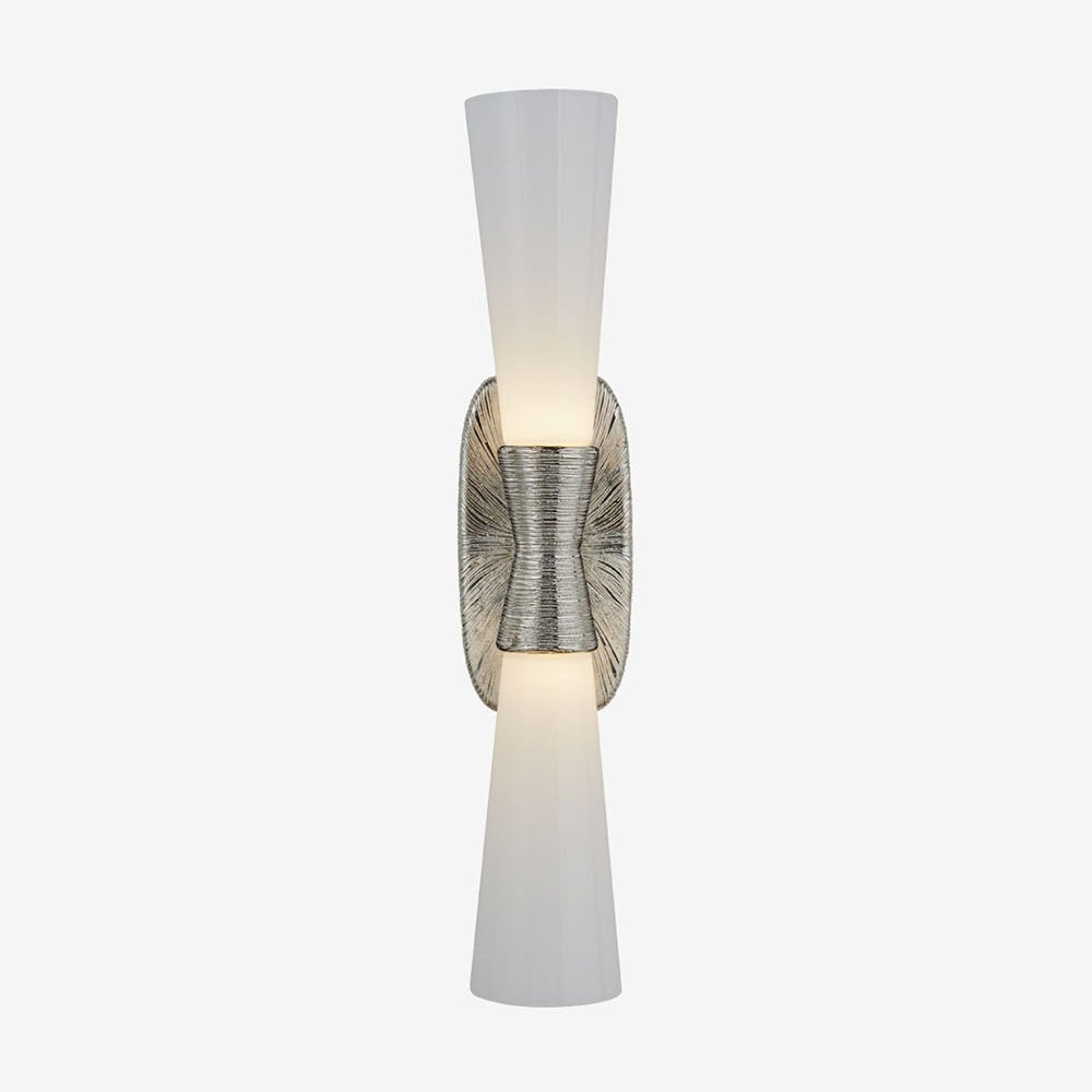 UTOPIA LARGE DOUBLE BATH SCONCE