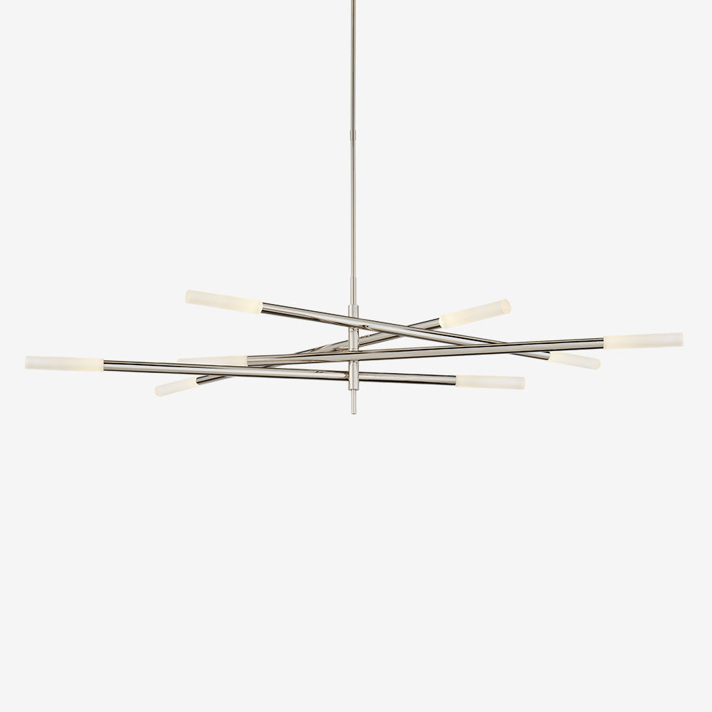 ROUSSEAU GRANDE EIGHT LIGHT ARTICULATING CHANDELIER