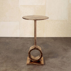 ARMATO BRONZE SIDE TABLE
