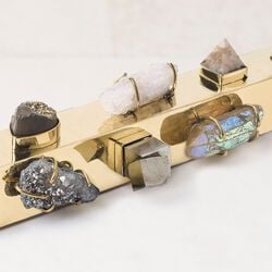 BAUBLE MEZUZAH - PYRITE