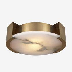 MELANGE LARGE FLUSH MOUNT LAMP