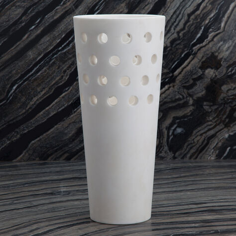 Perforated Large Vase