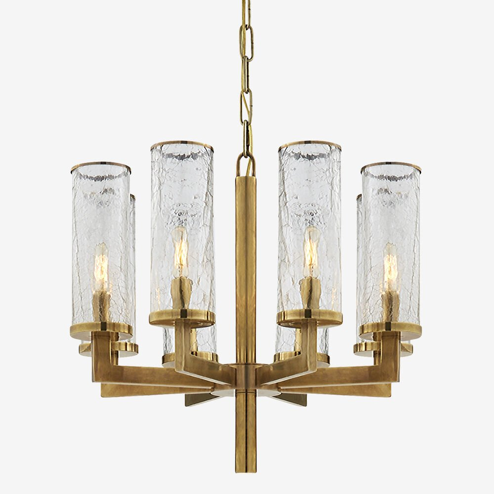 LIAISON ONE-TIER CHANDELIER - BRASS