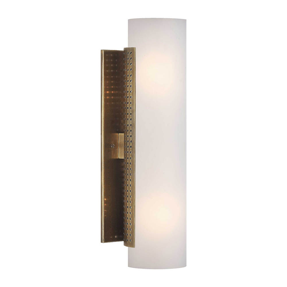 PRECISION CYLINDER SCONCE - BRASS