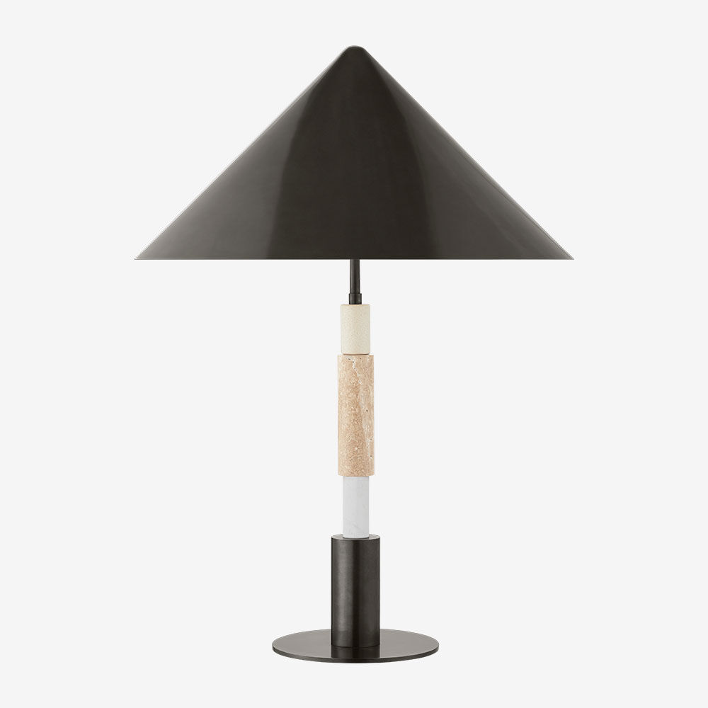 MIRA MEDIUM STACKED TABLE LAMP