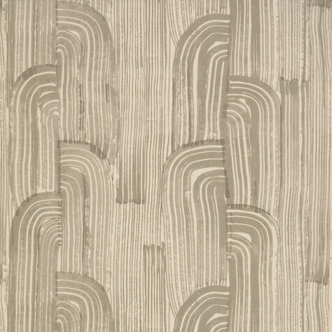 CRESCENT WALLPAPER - TAUPE PUTTY
