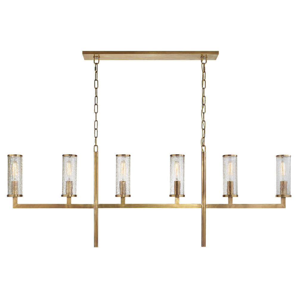 LIAISON LARGE LINEAR CHANDELIER