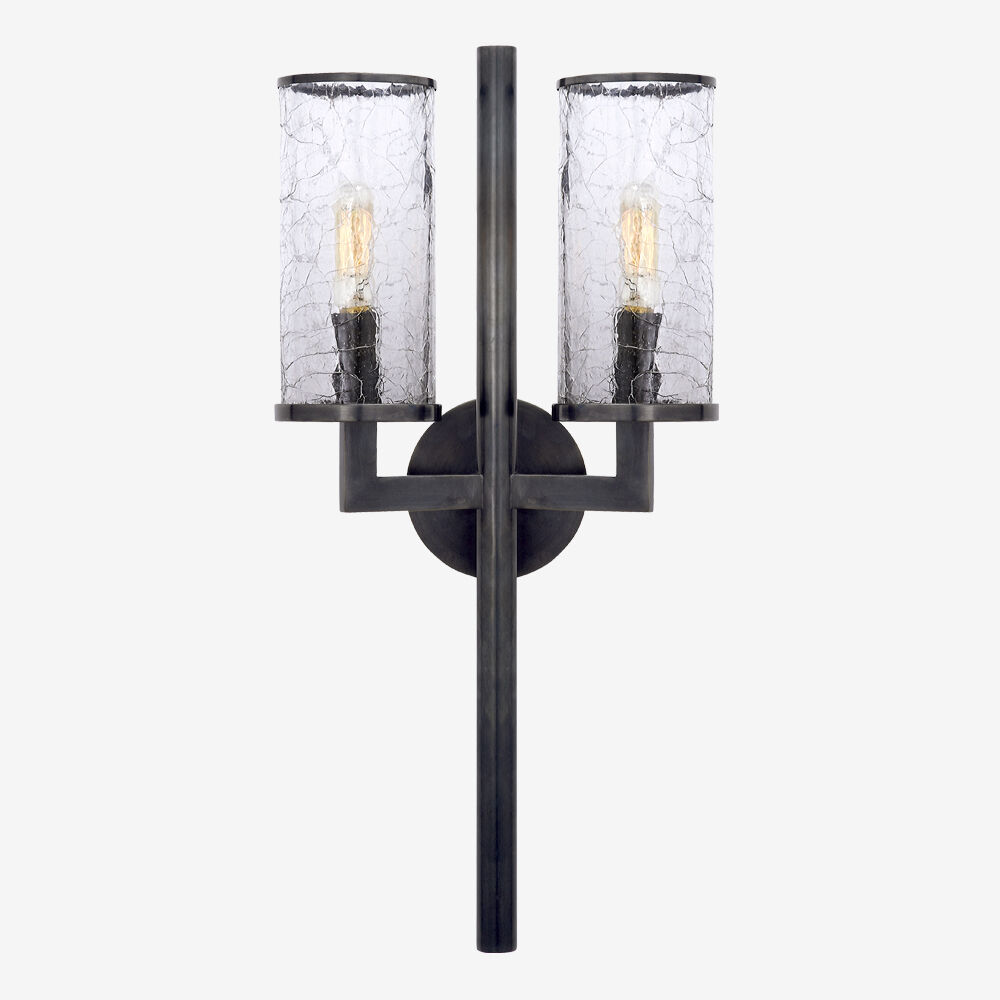 LIAISON DOUBLE ARM SCONCE