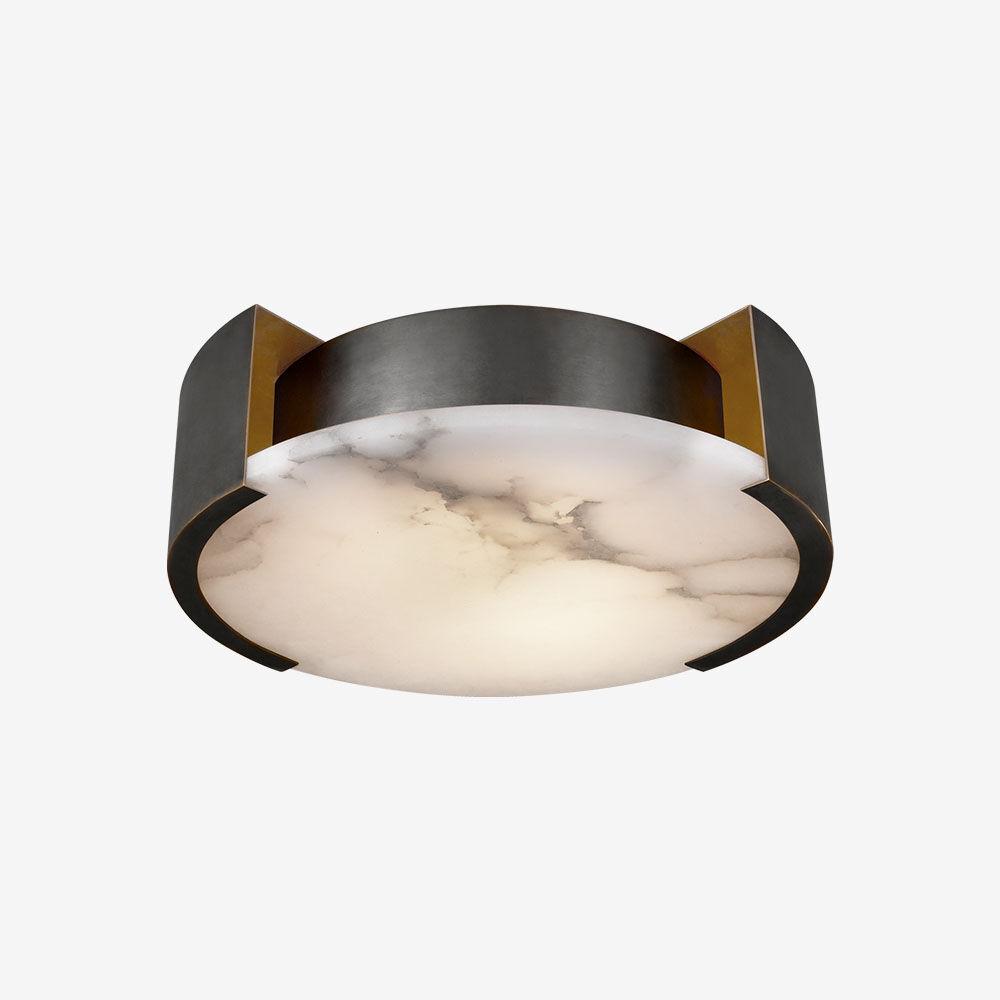 MELANGE SMALL FLUSH MOUNT LAMP