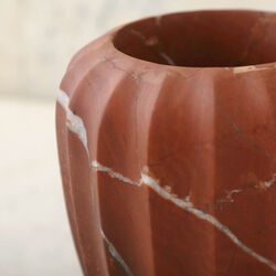 FLUTED SMALL VASE