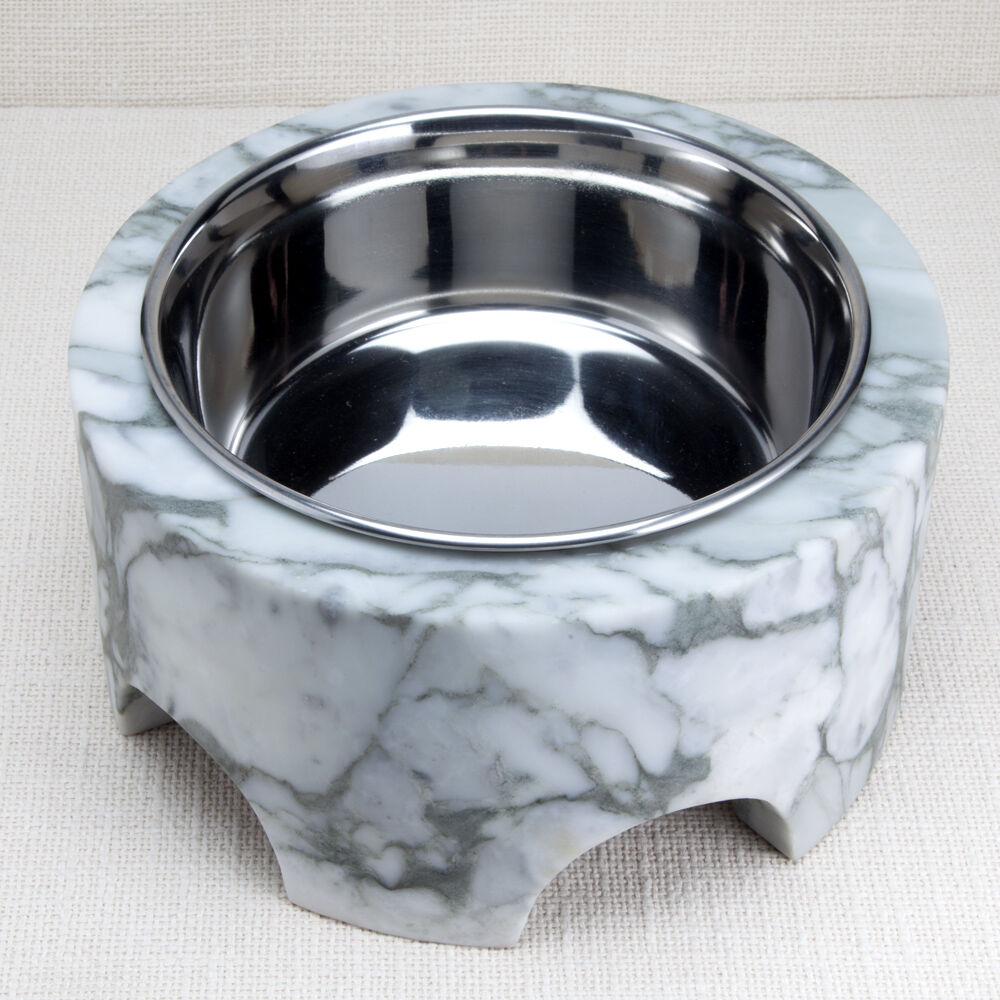 GRACIE SMALL DOG BOWL - BIG FLOWER