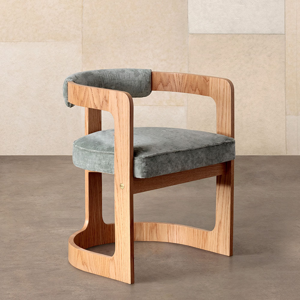 Zuma Dining Chair by Kelly Wearstler