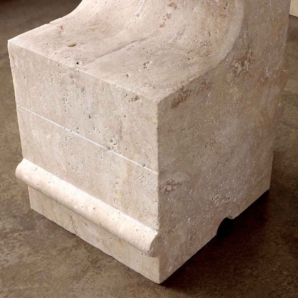 HUME STONE SIDE TABLE