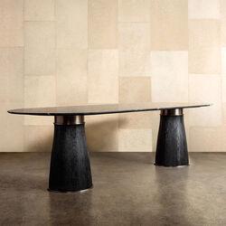 CAMDEN DOUBLE PEDESTAL DINING TABLE