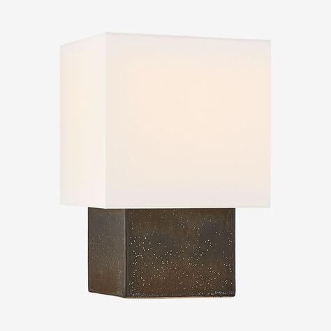PARI SMALL SQUARE TABLE LAMP