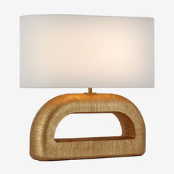 UTOPIA COMBED CONSOLE LAMP