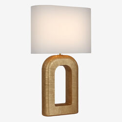 Utopia Large Combed Table Lamp