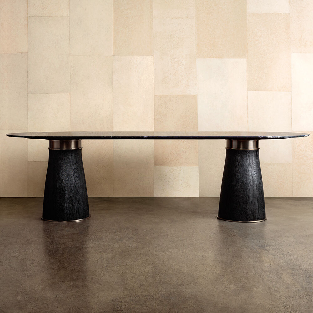 CAMDEN DOUBLE PEDESTAL DINING TABLE