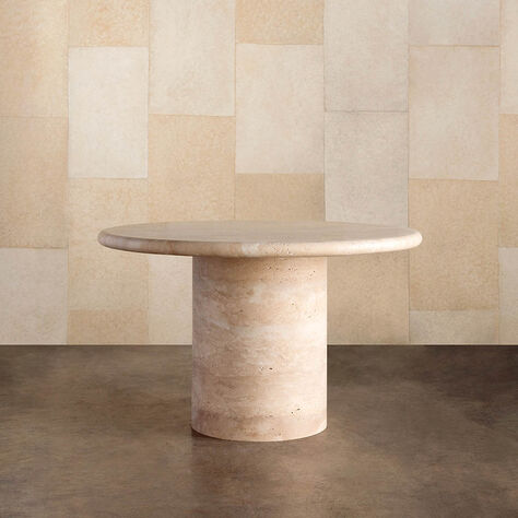 DUME PEDESTAL TABLE